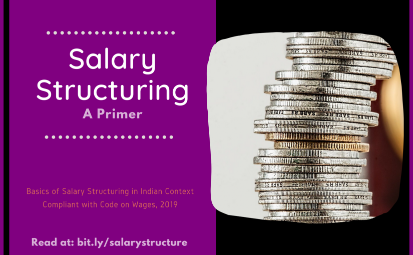 Salary Structuring: A Primer